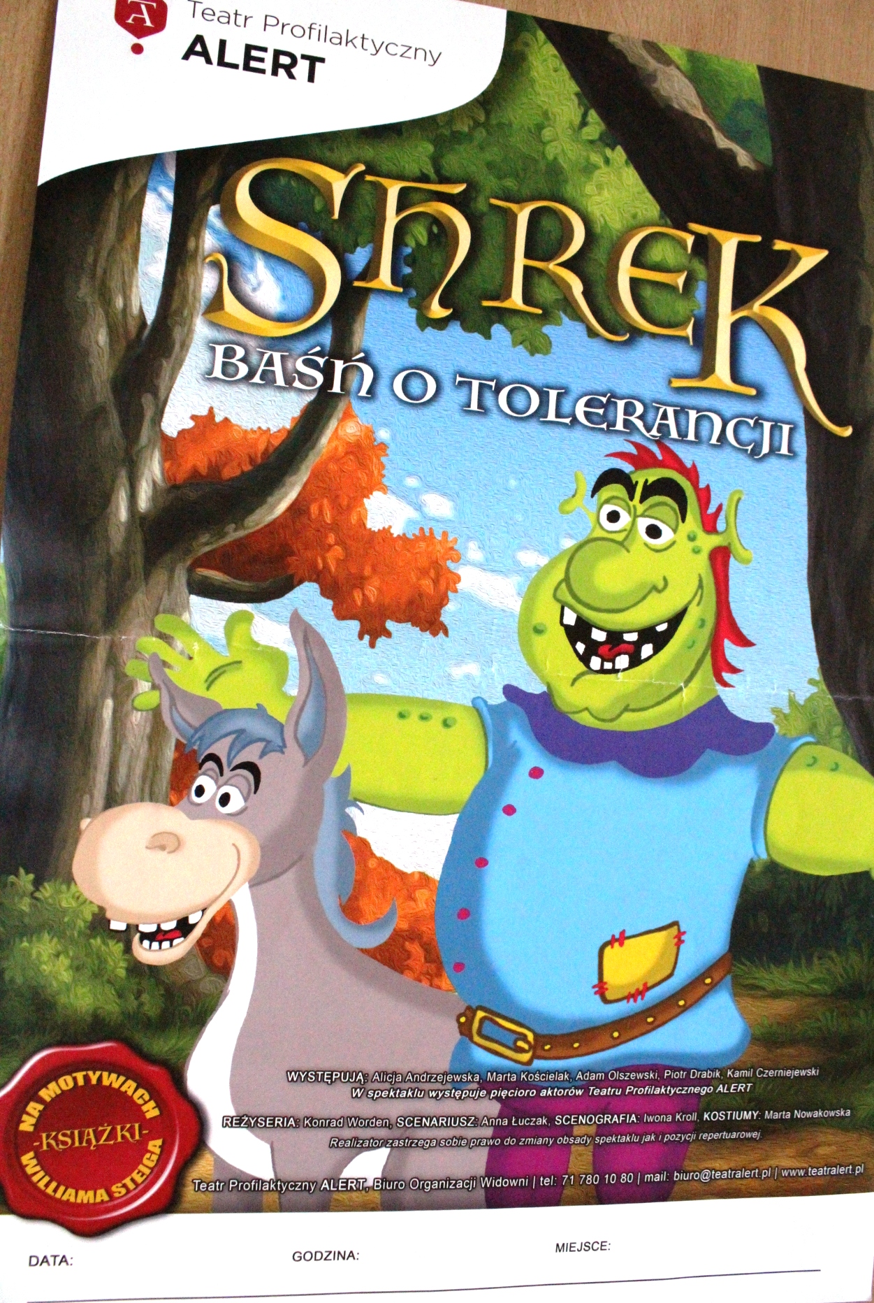 """Shrek – baśń o tolerancji"""