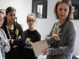 Szkolne Koło Czytelniczo-Krajoznawcze z wizytą w introligatorni